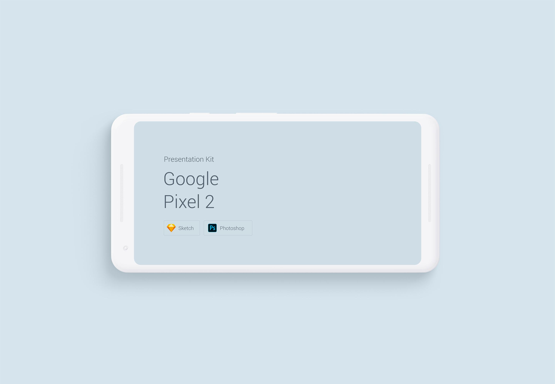 Download Google Pixel 2 Mockup for Sketch and Photoshop