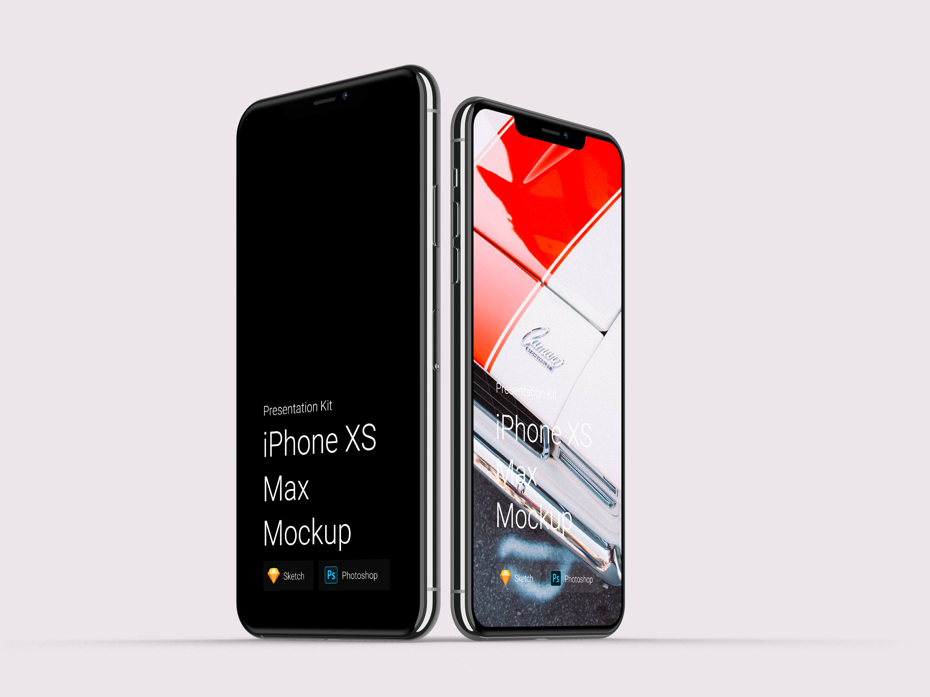 Download iPhone XS Max Mockups for Sketch and Photoshop