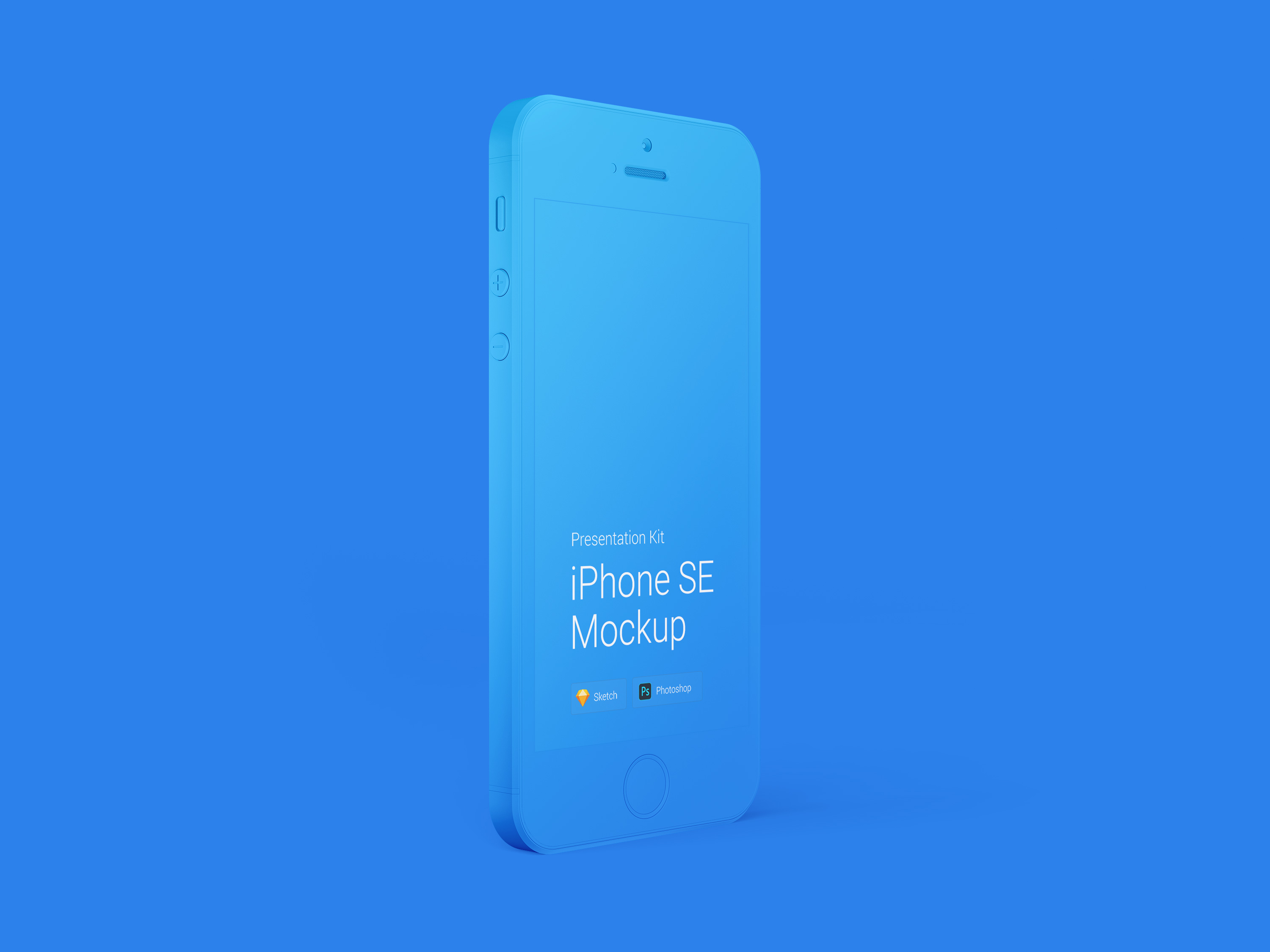 Download Apple iPhone SE Mockup for Sketch and Photoshop