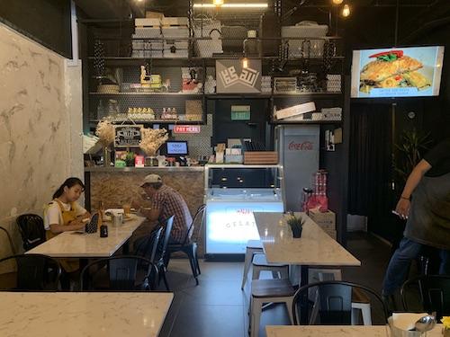 walaku cafe burger western food singapore Katong