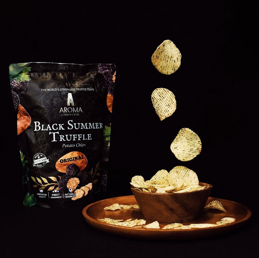 truffle chips aroma truffle singapore souvenir