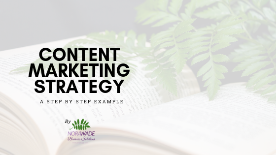 Content Marketing Strategy - A Step by Step Example