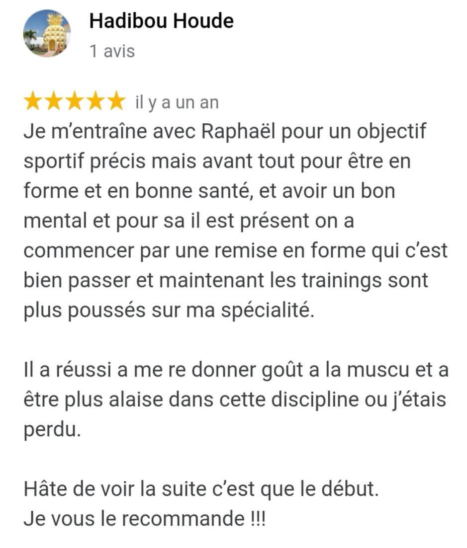 Raphael Fitness Avis