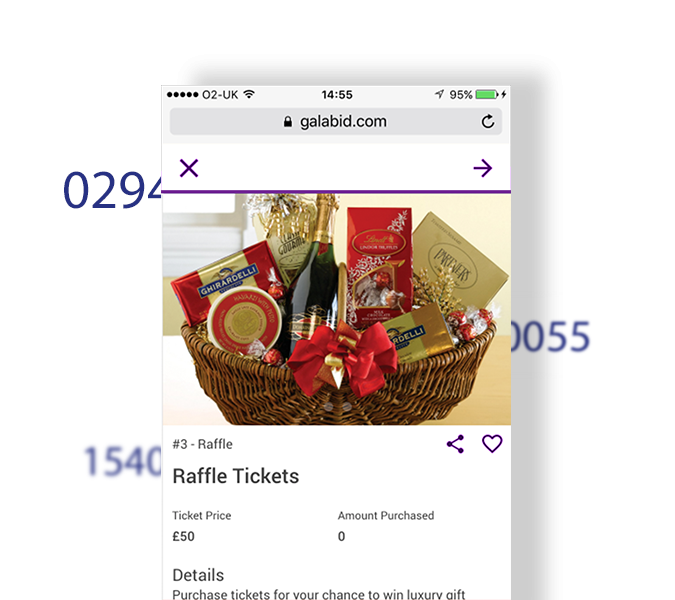 raffle tickets idea to raise money features