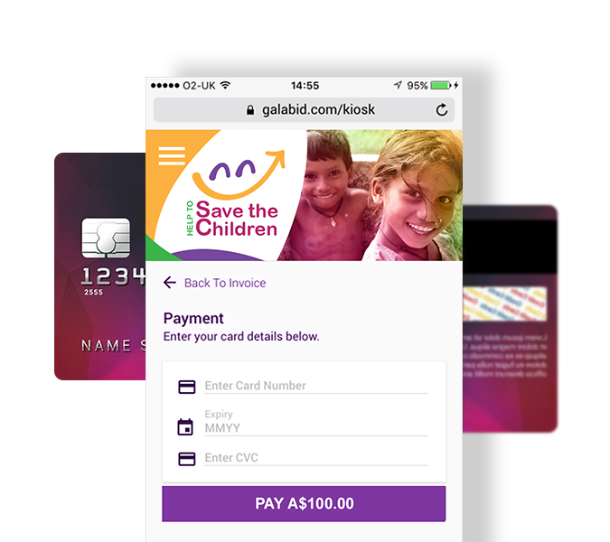 fundraising mobile platform features