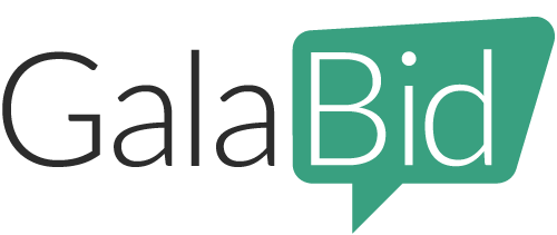 galabid powering fundraising events ideas
