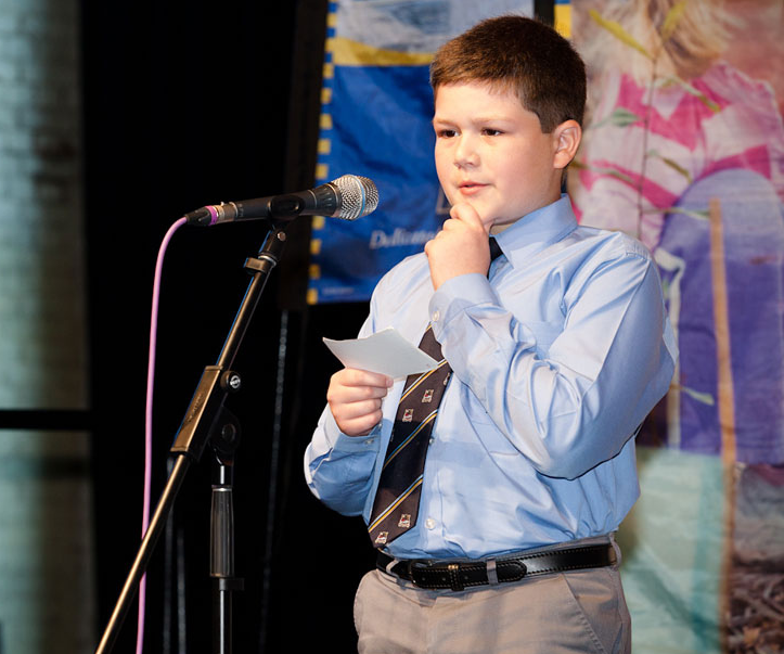 kid public speaking