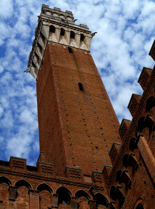 brick tower