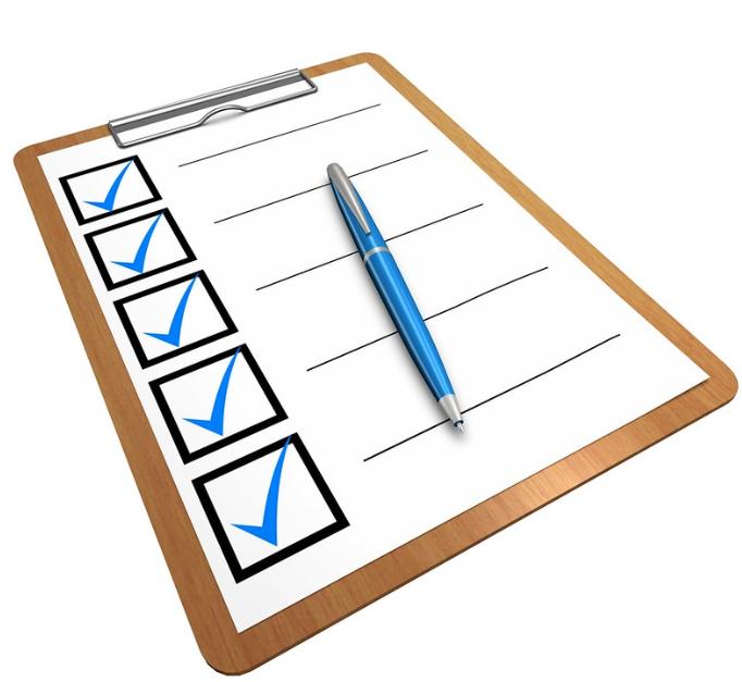 routine checklist