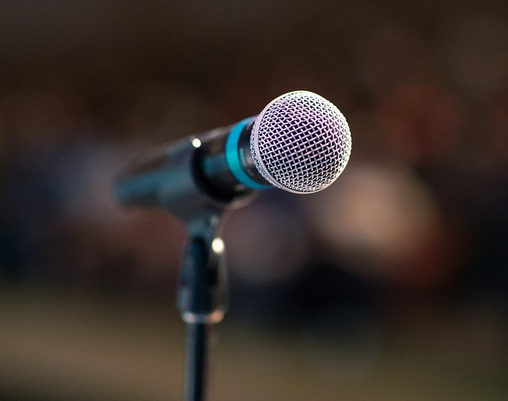 microphone for your speech