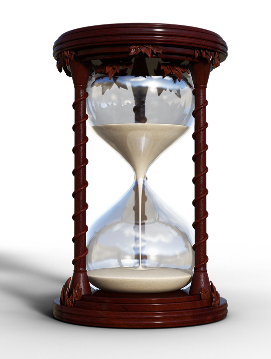 Hourglass, Timepiece, Flow Of Time, Pass, Trace
