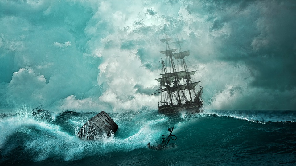 Ship, Shipwreck, Adventure, Setting, Boat, Mysticism