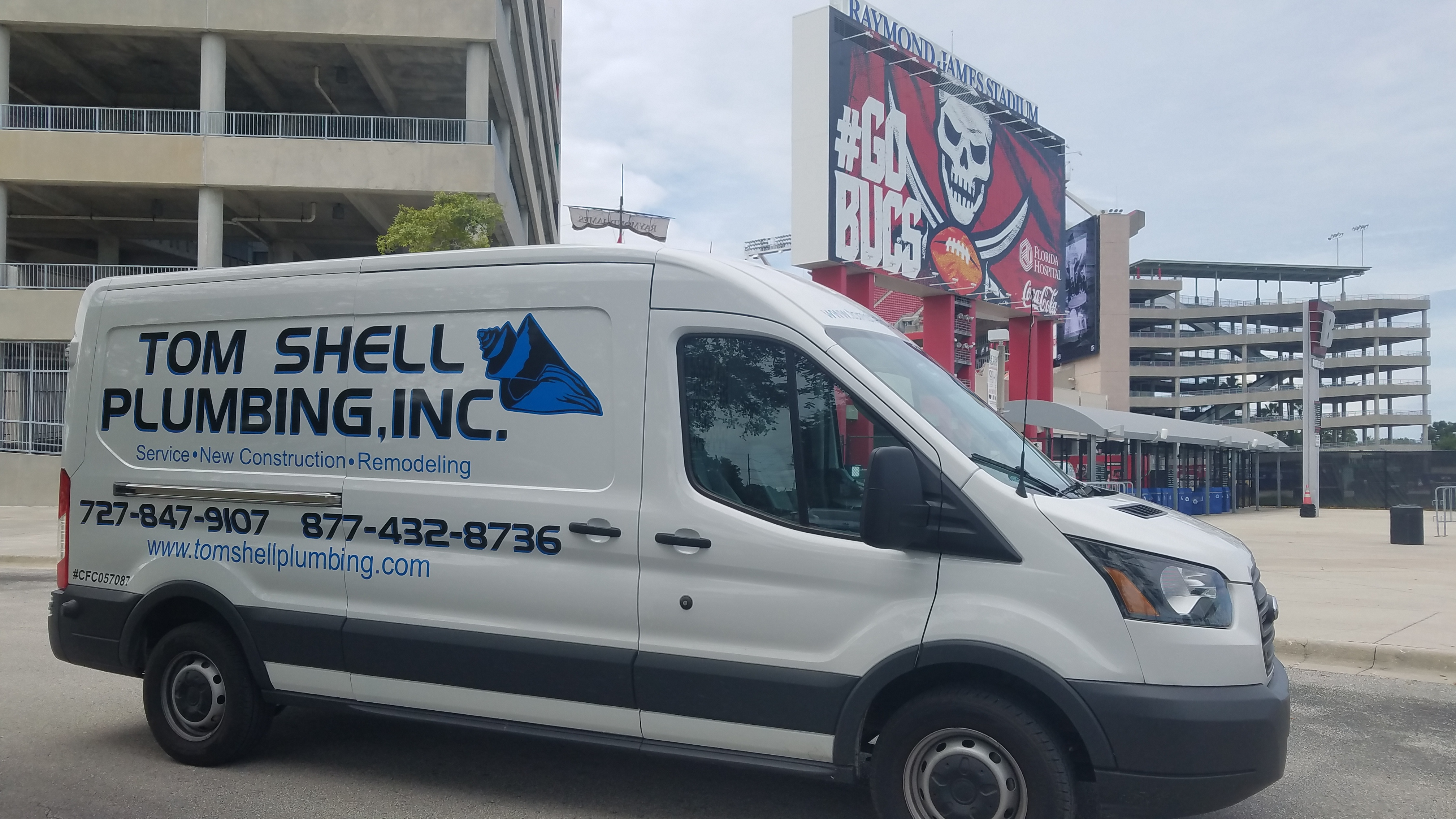 Tom Shell Plumbing Inc. Van
