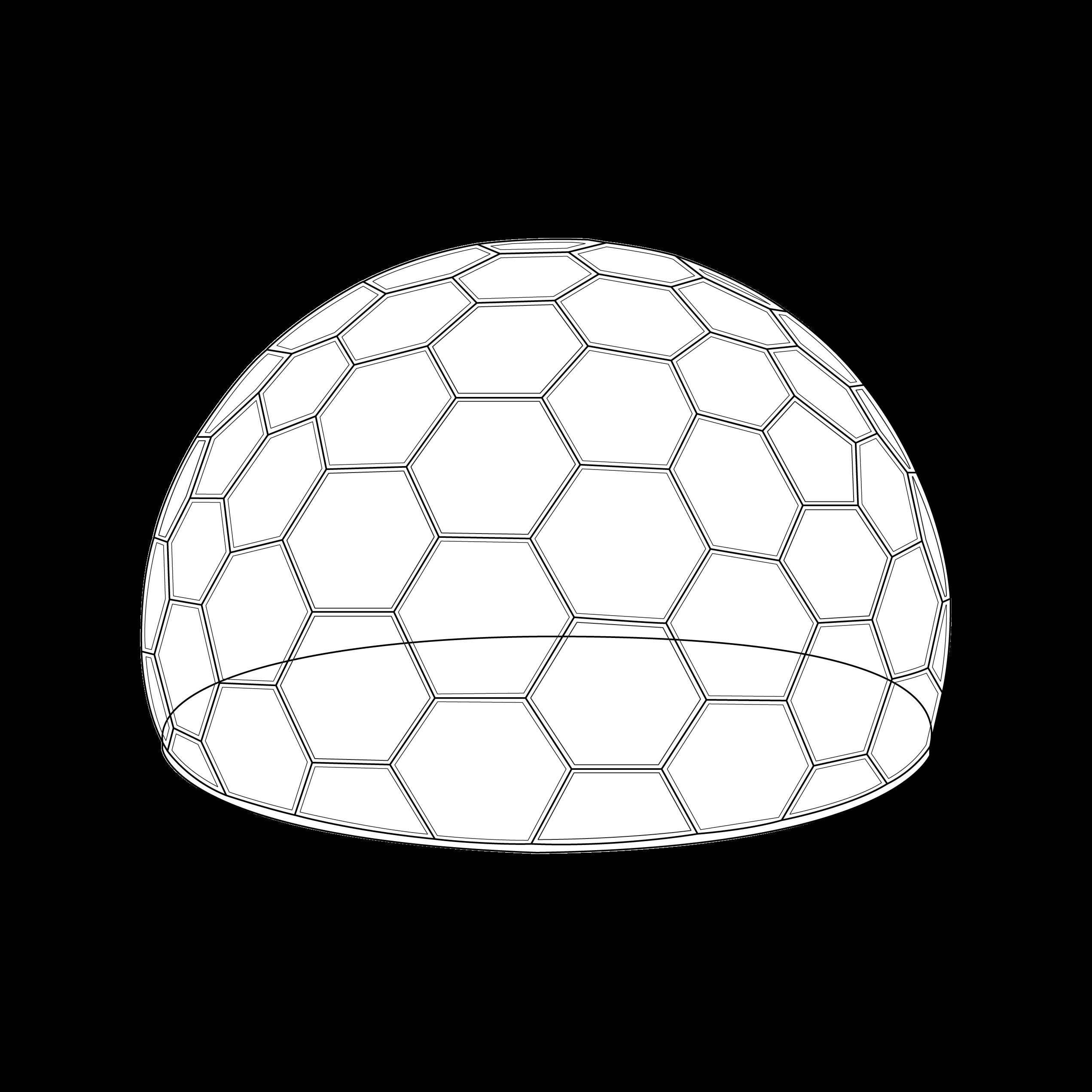 dôme transparent