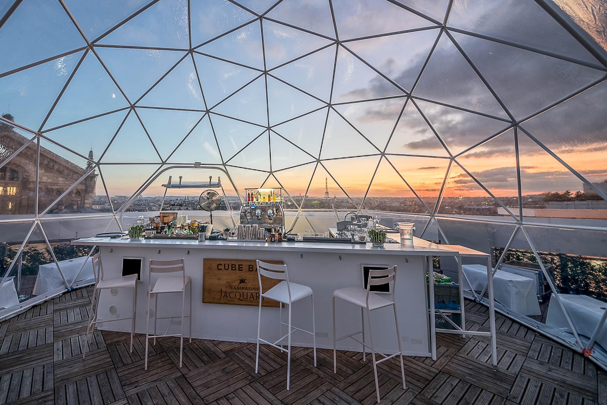 Structures nomades, le nouvel atout des événements outdoor