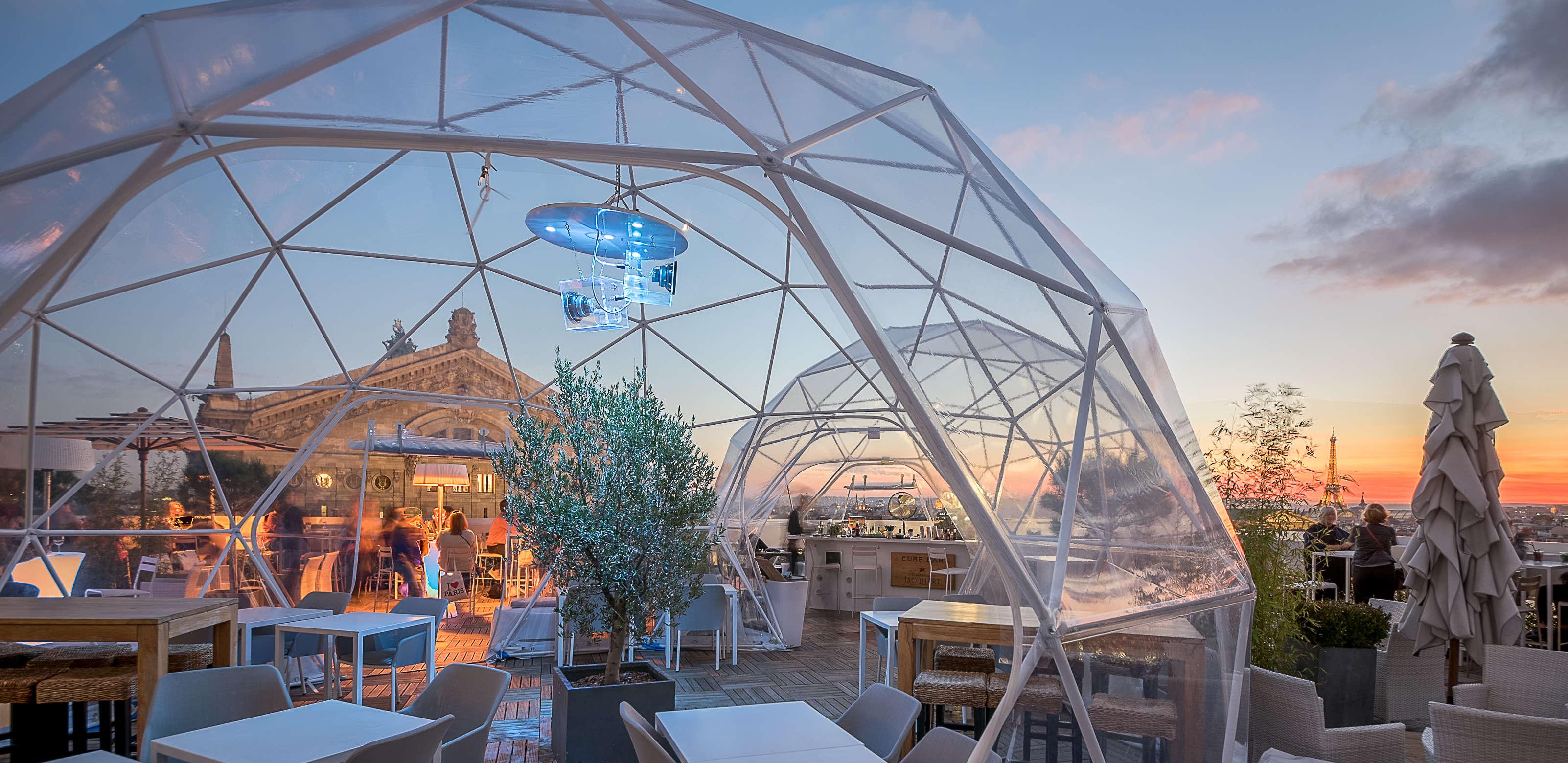 3 structures pour votre rooftop / terrasse