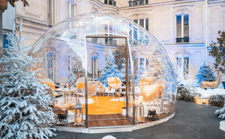 Une bulle au Fouquet's