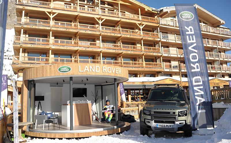 Un Pop-up Store inédit pour Land Rover