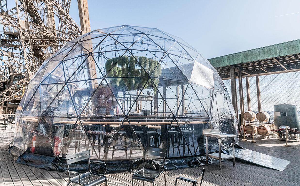 bubble restaurant eiffel tower