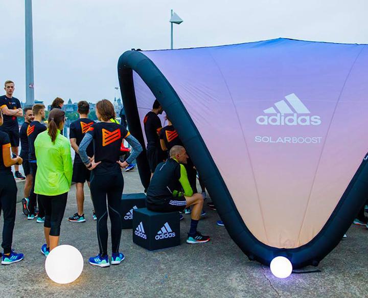 Adidas Tente événementielle