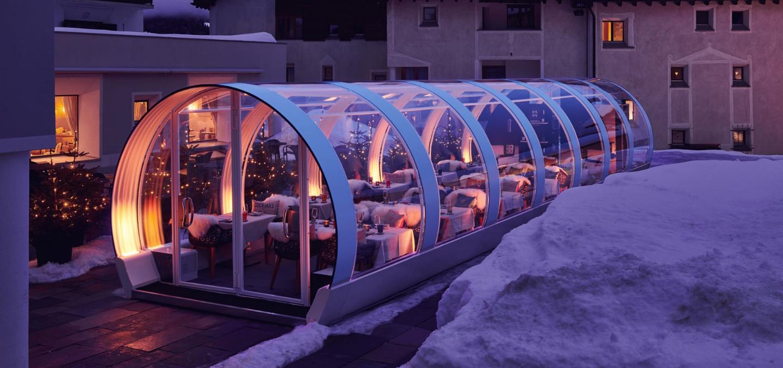 Couvrir sa terrasse l'hiver