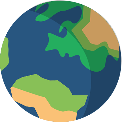 planet earth product demo icon