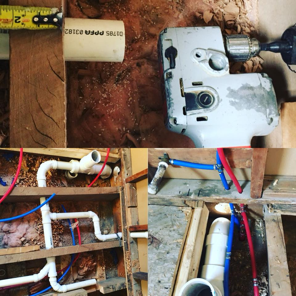 plumbing projects by plumbing solutions