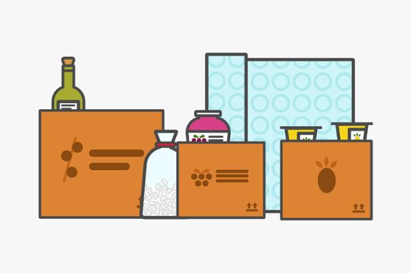 embalaje primario, secundario y terciario