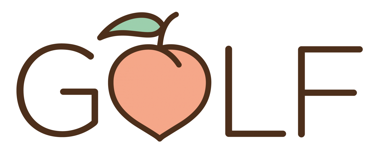 Golf Peach Logo