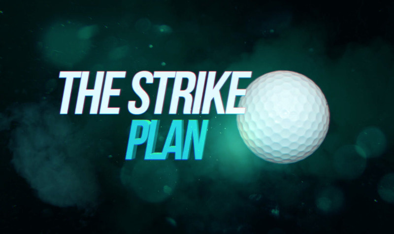 Adam Young Golf The Strike Plan Logo