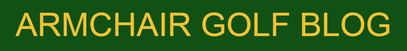 Armchair Golf Blog Logo