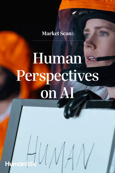 Artificial Intelligence from a human perspective
