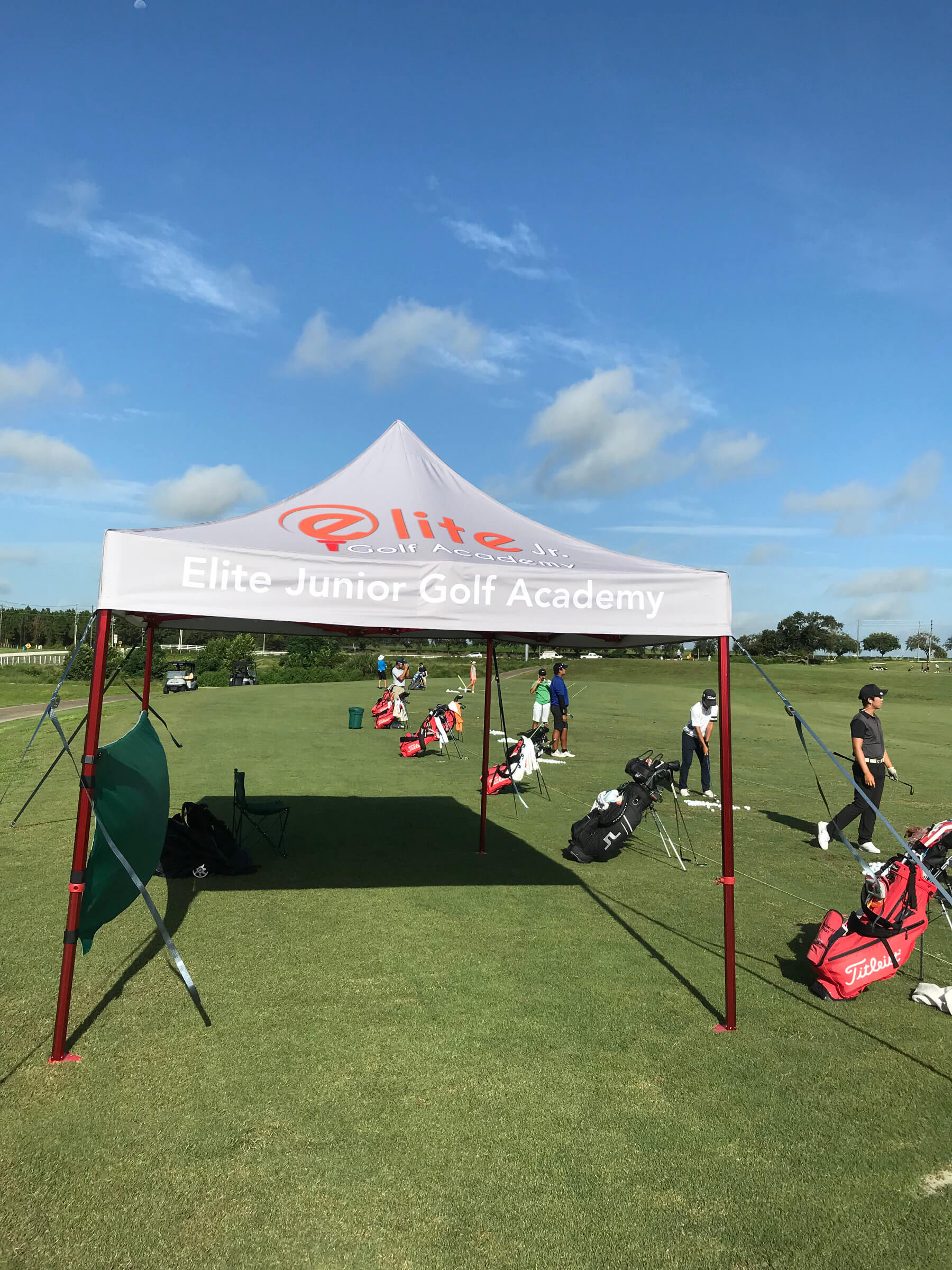 Tent During Practice