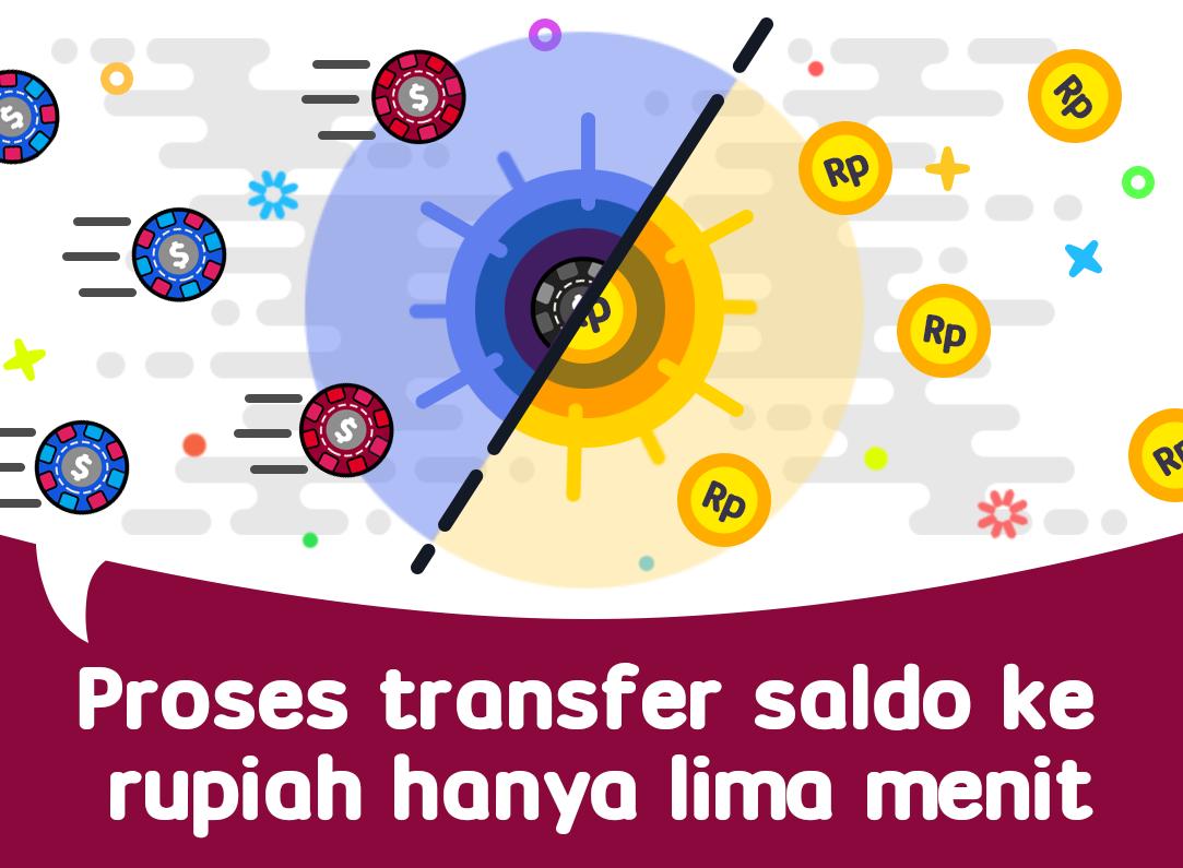 youindo - proses transfer saldo ke rupiah hanya lima menit