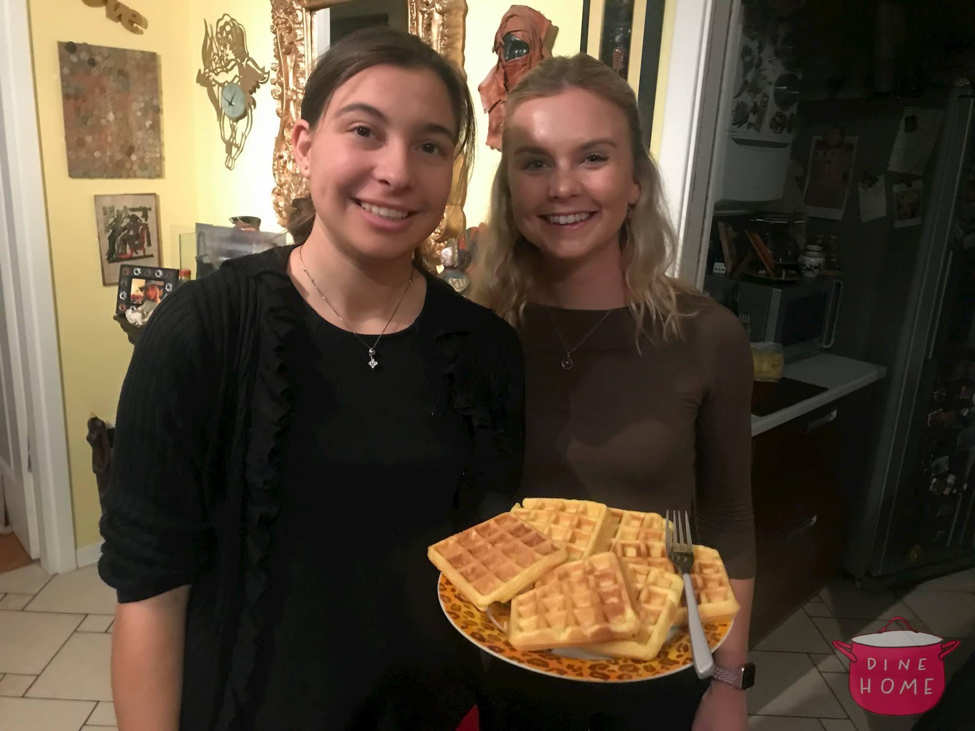 Allyson, studentessa dagli USA, a cena dalla sua famiglia Dinehome.