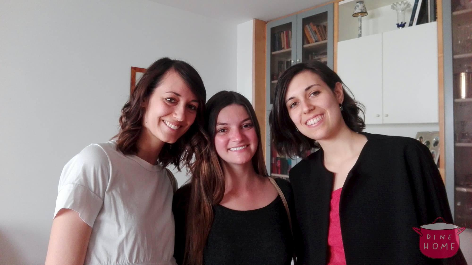 Mariana, studentessa dal Portogallo, a cena dalla sua famiglia Dinehome.