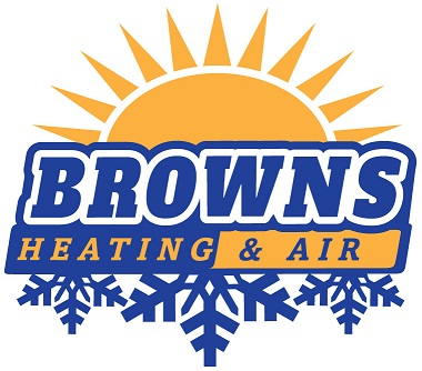browns heating and air logo
