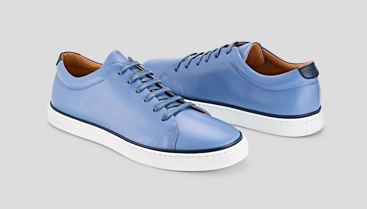 M Gemi Leather Sneakers