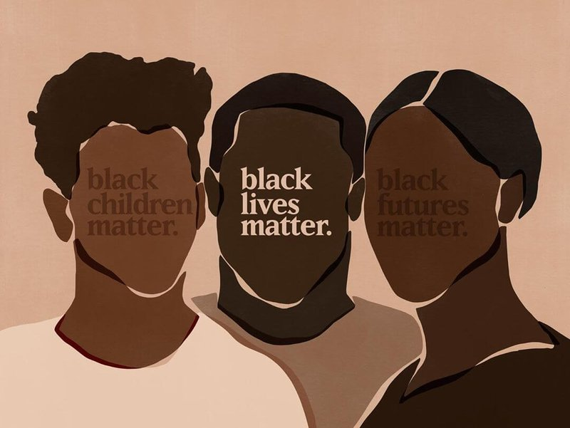 Black Lives Matter Art from sacrée frangine