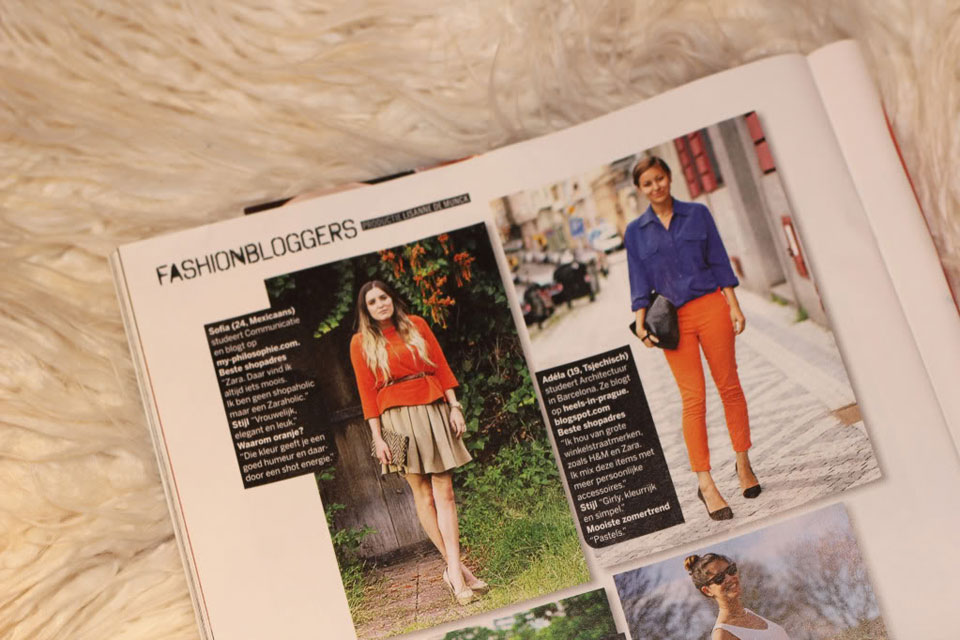 Viva magazine, sofia lascurain, my philosophie, press,