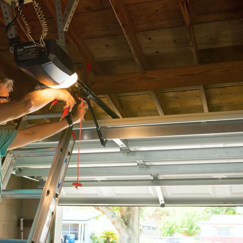 garage door maintenance project