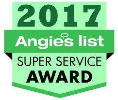 smolar garage doors is a angie's list 2017 super service award winner