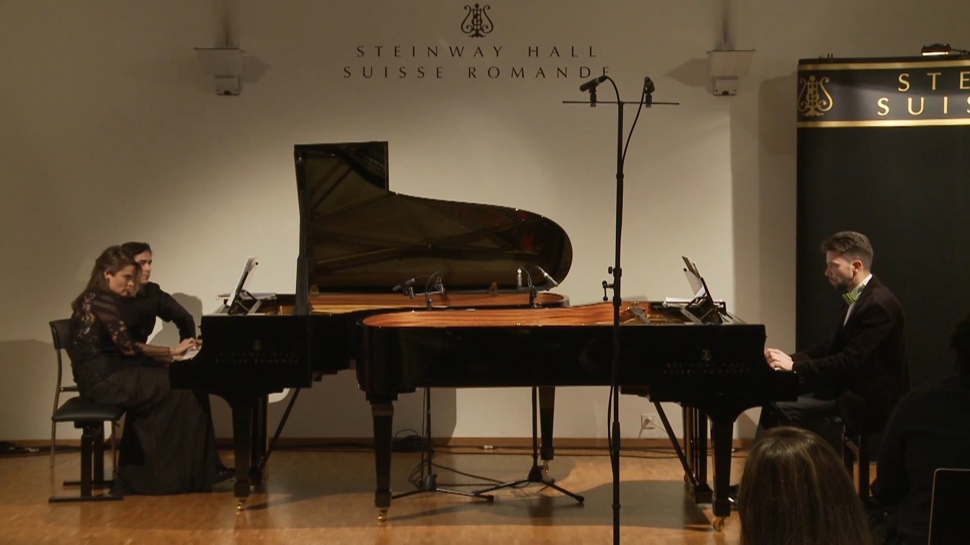 Piano Duo - Serguei Rachmaninov, Suite n° 2  for Two Pianos, IV. Tarantelle