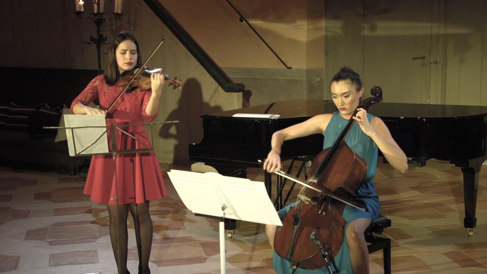 Johan Halvorsen, Passacaglia for Violin and Cello