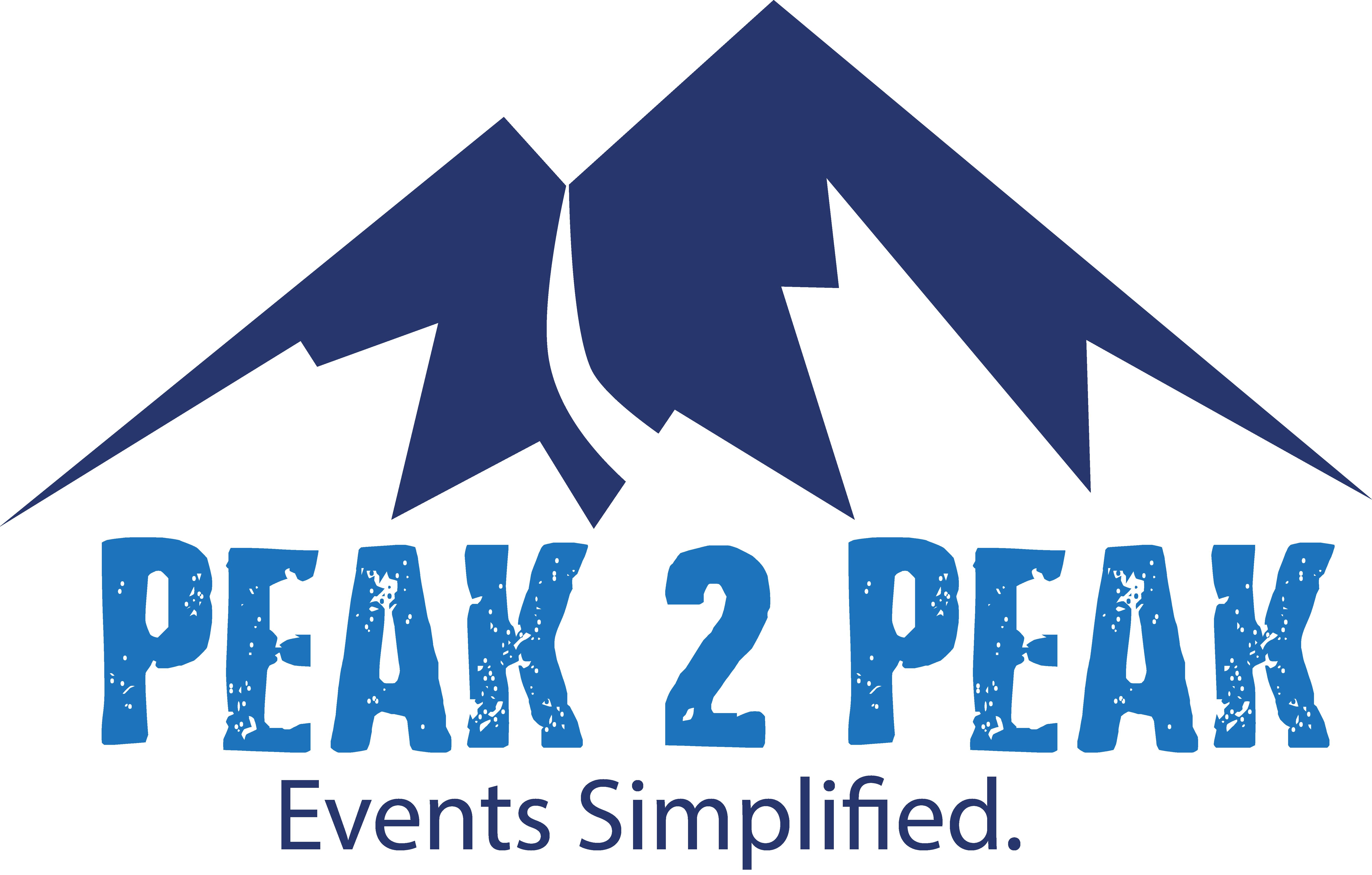 Peak 2 Peak logo