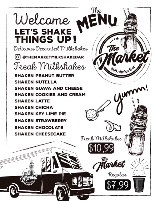 The Market Milkshake Bar