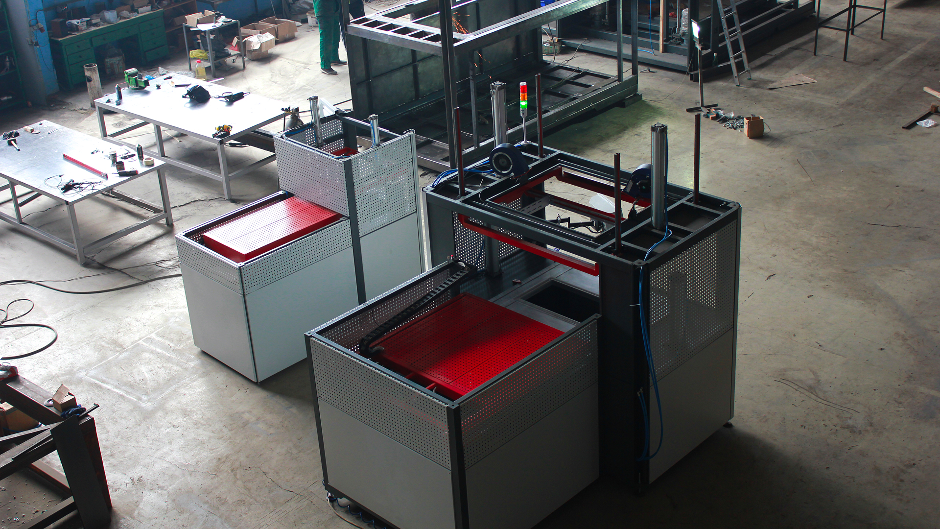 Vacuum forming machine FLEXPLAST S series