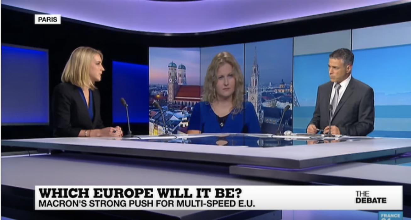 France 24 debate: German elections & Macron in Europe