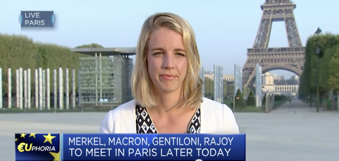 CNBC: Macron's popularity after the summer