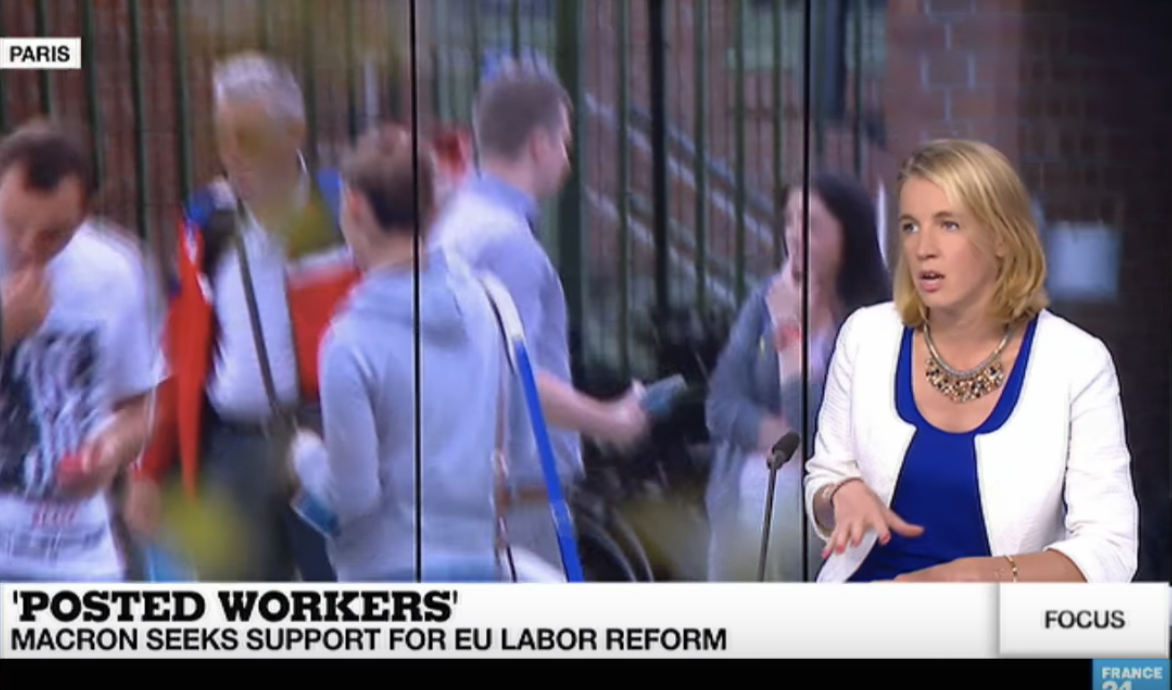 France 24: Posted workers directive
